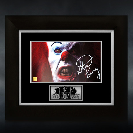 It // Stephen King Signed Photo // Custom Frame