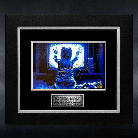 Poltergeist // Steven Spielberg Signed Photo // Custom Frame