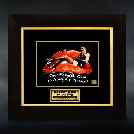 Rocky Horror Picture Show // Tim Curry Signed Photo // Custom Frame
