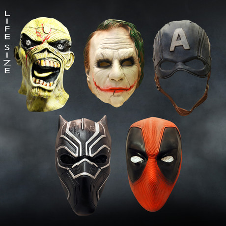 Premium Superheroes Masks (Black Panther Mask)