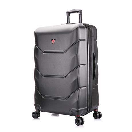 ZONIX Lightweight Hardside Luggage // Black (Small)