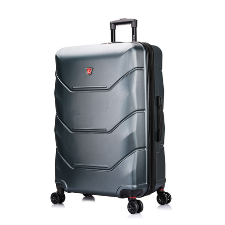 ZONIX Lightweight Hardside Luggage // Green (Small)
