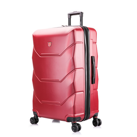ZONIX Lightweight Hardside Luggage // Wine (Small)