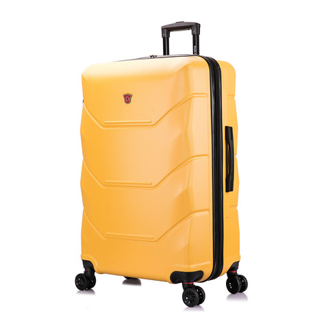 ZONIX Lightweight Hardside Luggage // Mustard (Small)