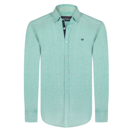 Shirt // Green + White (S)