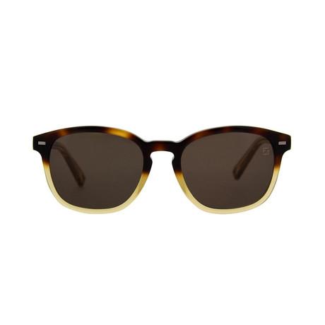Zegna // Classic Sunglasses // Havana + Roviex