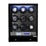 Arcanent 9 Slot LCD Digital Watch Winder // Black