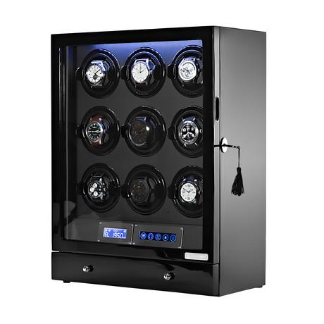 Arcanent 9 Slot LCD Digital Watch Winder