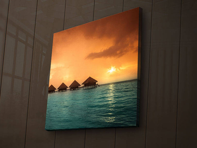 Photo of Wallity Backlit LED Canvas Prints 2828Ä°ACT-3 by Touch Of Modern