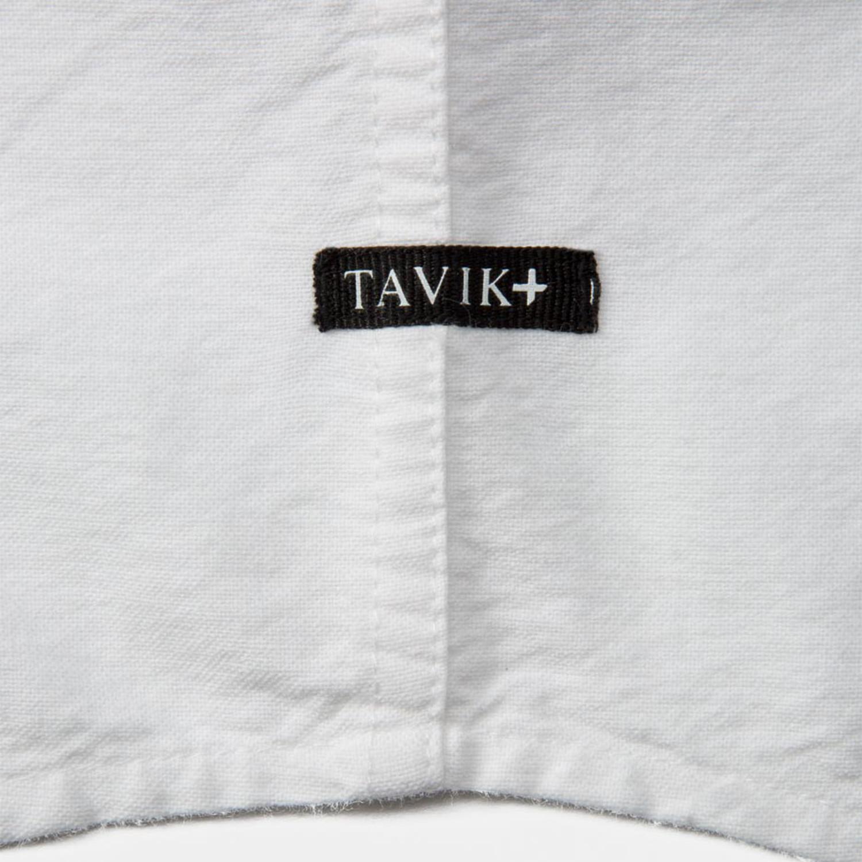 c2dcf6a2152ed Uncle Short Sleeve Oxford Button Down Shirt    White (S) - Tavik ...