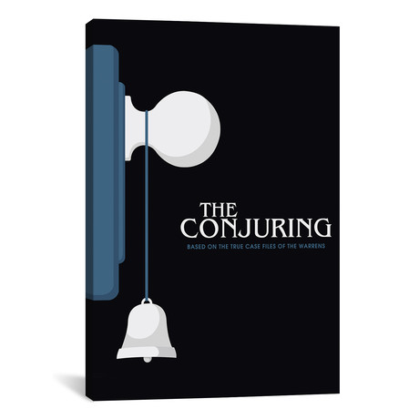 "The Conjuring // Minimalist Poster // Popate (26""W x 18""H x 0.75""D)"