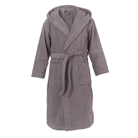 Hooded Bathrobe // Anthracite (S/M)