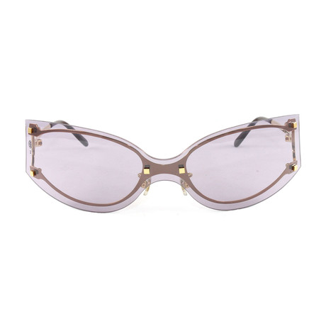 Women's Pasha1 Sunglasses // Gold + Rose Lens