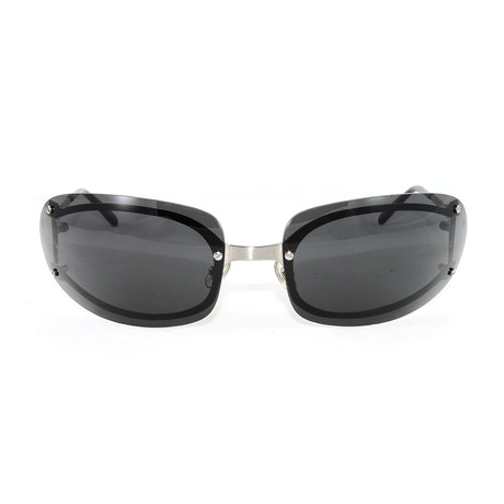 Men's Pasha4 Sunglasses // Gunmetal + Grey Lens