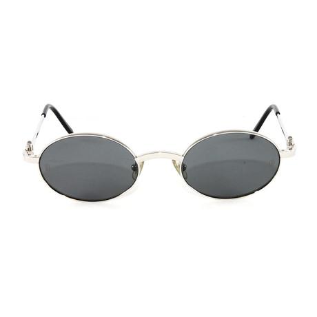 T8200314 Spider Sunglasses // Platinum Grey Lens
