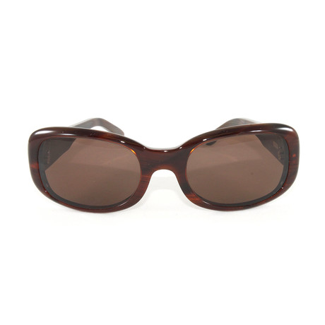 Women's T8200412 Sunglasses // Orange Horn