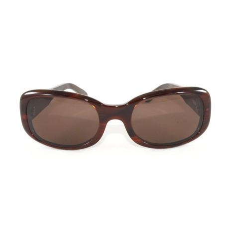 T8200412 Sunglasses // Orange Horn