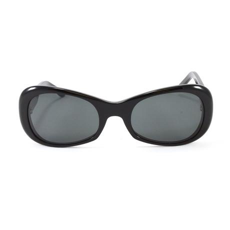 T8200466 Sunglasses // Black + Silver