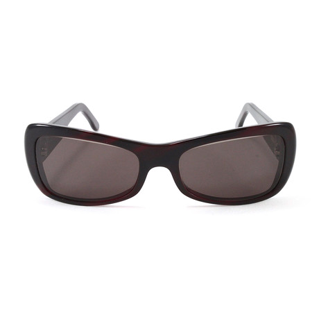 Women's T8200469 Sunglasses // Burgundy