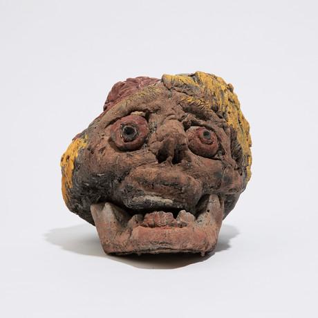 Zombie Skull // Smiley