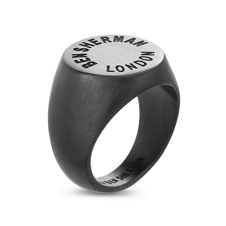 Ip Quot Ben Sherman London Quot Labeled Signet Ring Size 9 Nes