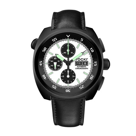 TOCKR Air Defender Panda Chronograph Automatic // AD1BK.05.LS