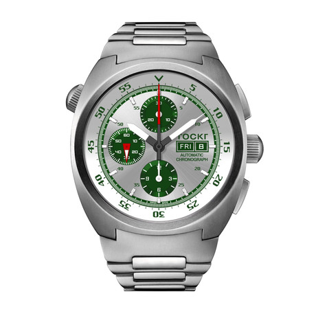 TOCKR Air Defender Silverado Chronograph Automatic // AD1SS.03.BR