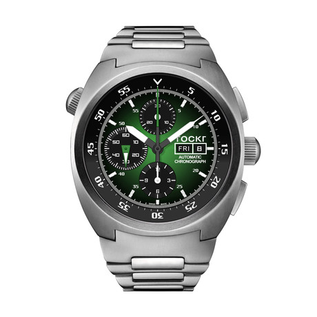 TOCKR Air Defender Hulk Chronograph Automatic // AD1SS.04.BR