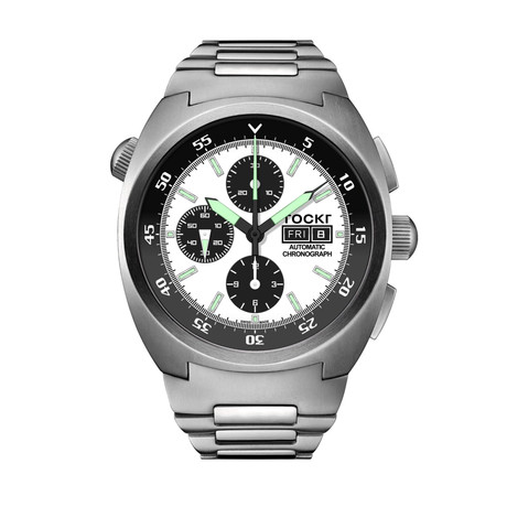 TOCKR Air Defender Panda Chronograph Automatic // AD1SS.05.BR