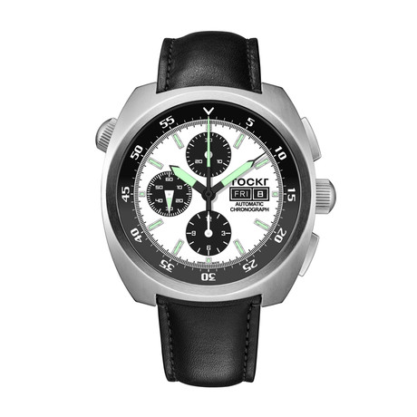 TOCKR Air Defender Panda Chronograph Automatic // AD1SS.05.LS