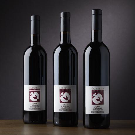 Godspeed Vineyards Napa Cabernet Sauvignon // Set of 3