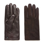 Suede Gloves // Brown (S)