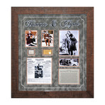 Signed Signature Collage // Bonnie and Clyde