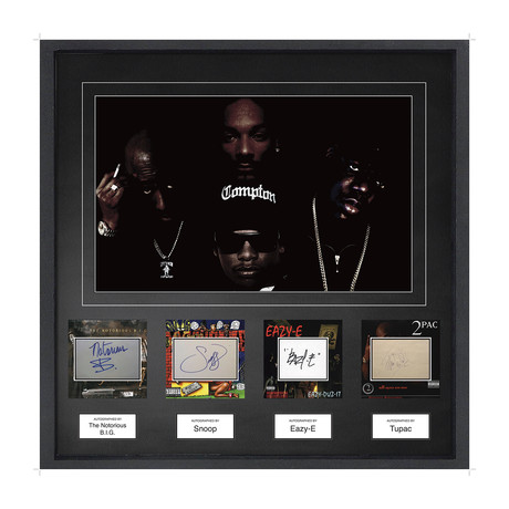 Signed Signature Collage // Gangster Rappers