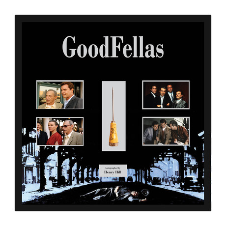 Signed Ice Pick Collage // Goodfellas
