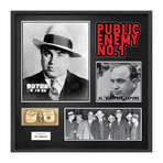 Signed Dollar Collage // Al Capone