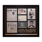 Signed Signature Collage // Public Enemy #1 // John Dillinger