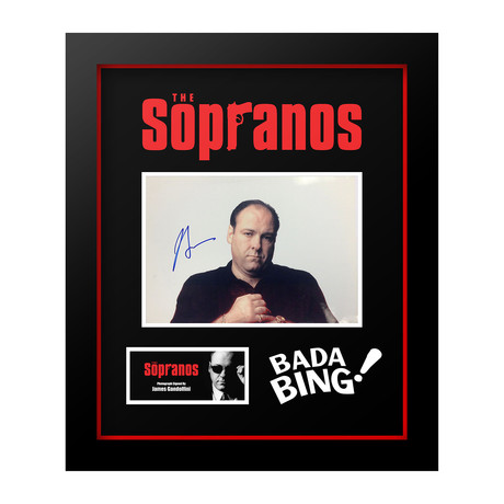 Signed Movie Series // The Sopranos // James Gandolfini