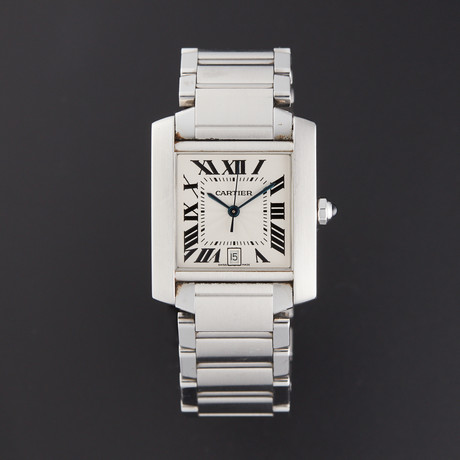 Cartier Tank Francaise Large Automatic // 2302 // Pre-Owned