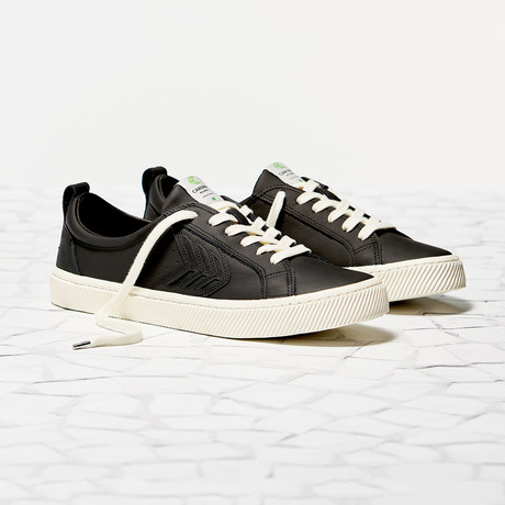 Catiba Low Leather // Black (US: 8)