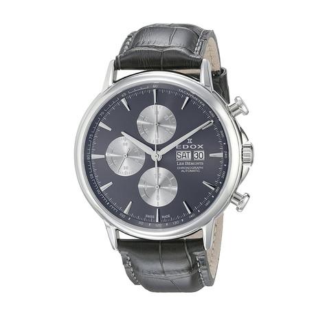Edox Les Bemonts Chronograph Automatic // 01120 3 GIN