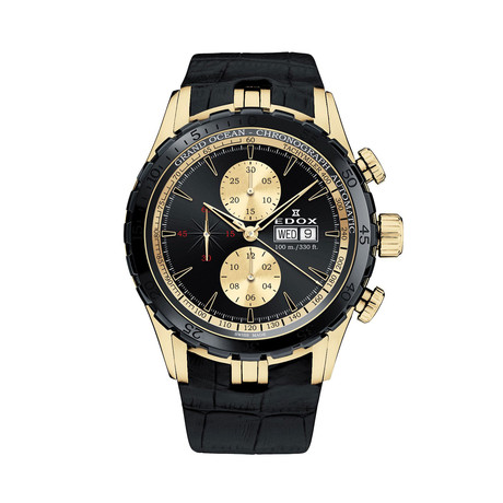 Edox Grand Ocean Chronograph Automatic // 01121 357JNC NID