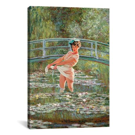 """Claudette by Jason Brueck (18""""W x 26""""H x 0.75""""D)"""