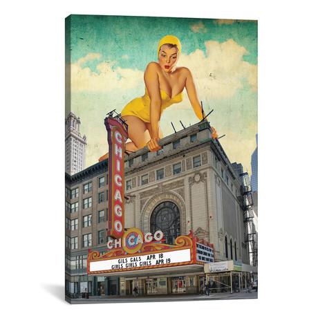 """Chicago Pinup // Jason Brueck (18""""W x 26""""H x 0.75""""D)"""
