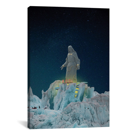 """Holy Water (26""""W x 18""""H x 0.75""""D)"""