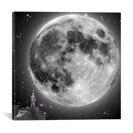 """Moonstruck // Jason Brueck (18""""W x 18""""H x 0.75""""D)"""