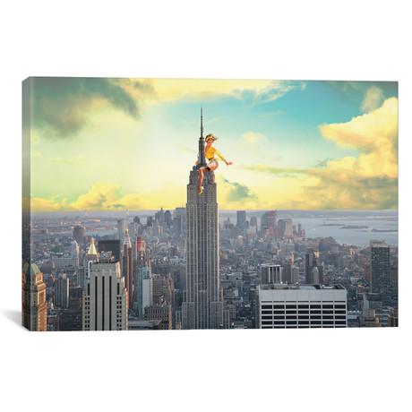"NYC Pinup // Jason Brueck (26""W x 18""H x 0.75""D)"