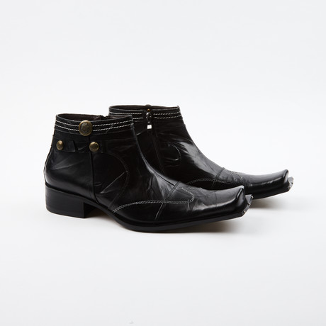 Tom Wing-Style Boots // Black (US: 6.5)