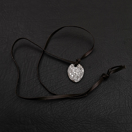 Damascus Pendant // 8005