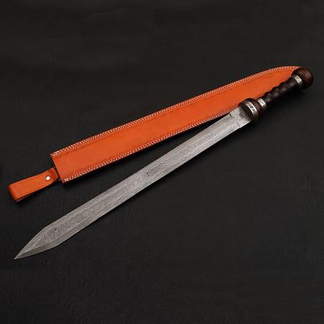 Damascus Roman Gladius Sword//9244